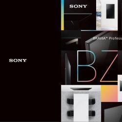 Sony 75 Zoll Monitor der BZ35F Serie