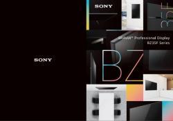 Sony 65 Zoll Monitor der BZ35F Serie