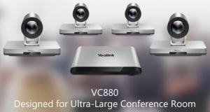 Yealink VC880 Videokonferenz KOMPLETT DEMO BUNDLE